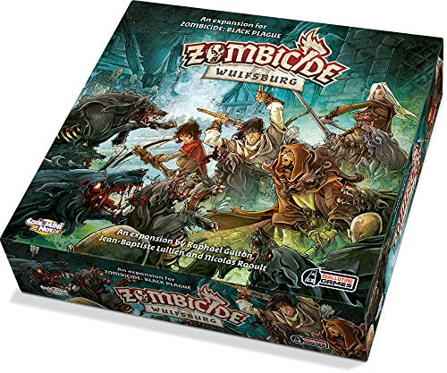 Carte per gioco Zombicide Special Guest Edouard Guiton Lingua inglese Cool Mini or Not GUG0062