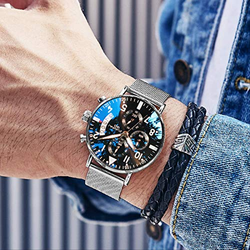 Reloj para Hombre, Marca Positiva, Electrónico, Tritio Suizo, Cuarzo, Estudiante, Los Diez Mejores, Marca Famosa, Deportes, Tendencia Mecánica, Reloj para Hombre