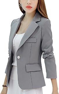 [ルナー ベリー] ジャケット テーラード 長袖 シングルボタン ビジネスコーデ ブレザー レディース 4406