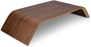 kalibri Wood Monitor Stand Riser - Computer Desk Holder Desktop Dock Wooden Mount Display for PC TV Screen Notebook Laptop...