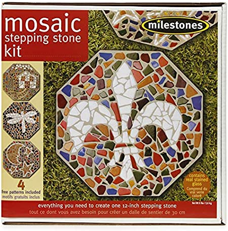 2002 Milestones Kids Mosaic Stone Kit Brand New