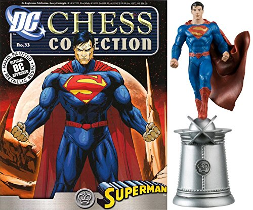 dc comics Chess Figurine Collection Nº 33 Superman