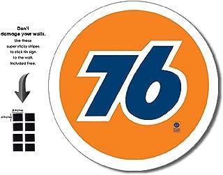 Shop72 - Tin Signs Retro Vintage Gas Tin Sign n Oil Tin Sign Wall Decor Garage - Union 76 Gas
