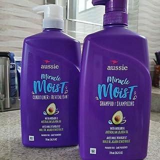 Aussie Moist Shampoo + Cond Abacate E Óleo De Jojoba 778ml