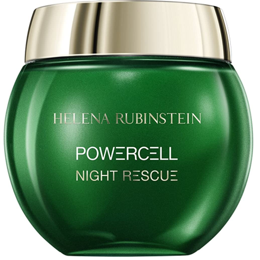 印象的不測の事態信頼ヘレナルビンスタイン Powercell Night Rescue Cream-In-Mousse 50ml/1.74oz並行輸入品