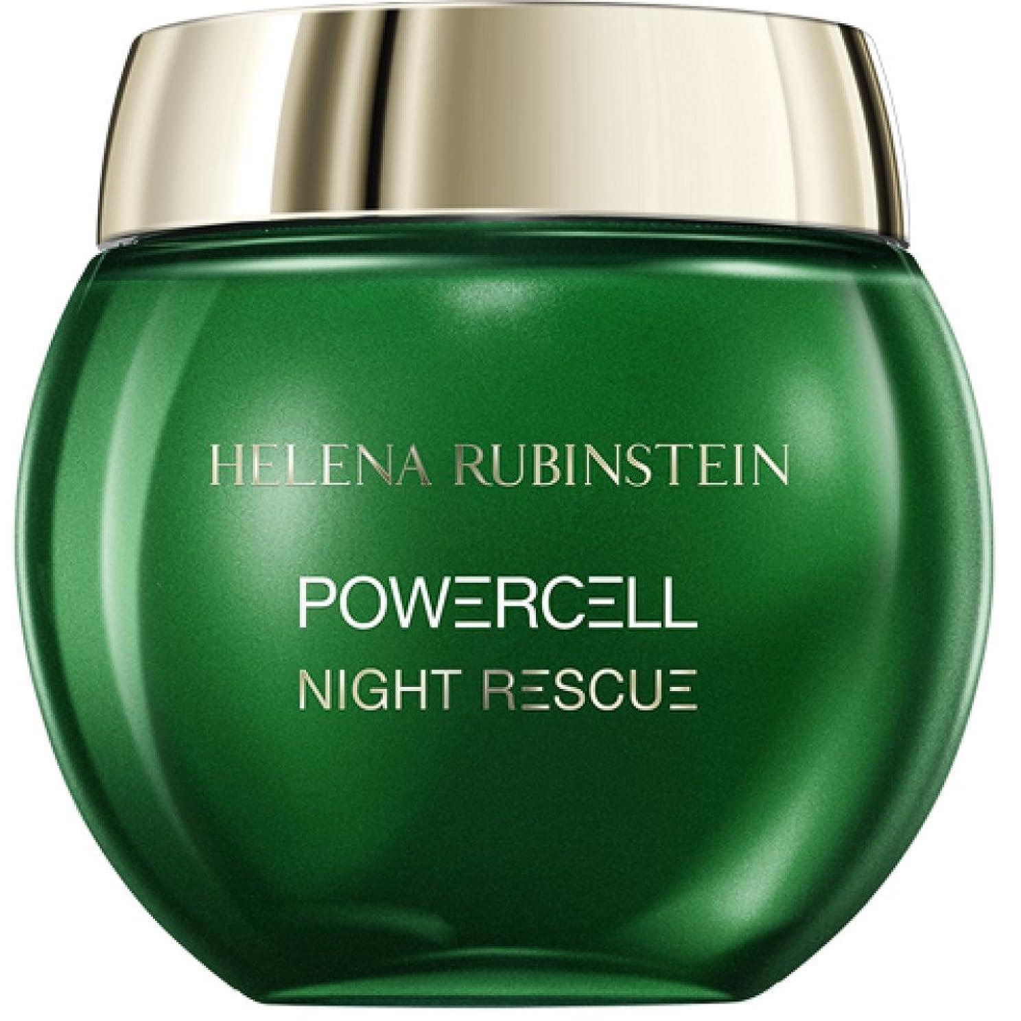 ロンドン限り構成するヘレナルビンスタイン Powercell Night Rescue Cream-In-Mousse 50ml/1.74oz並行輸入品