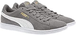 PUMA Women's Vikky Sneaker - Choose Color and Size (Grey, 6)