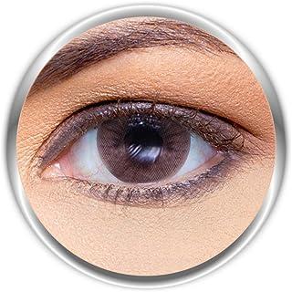 Anesthesia Addict Castano Unisex Contact Lenses, Anesthesia Cosmetic Contact Lenses, 6 Months Disposable- Addict Castano (...