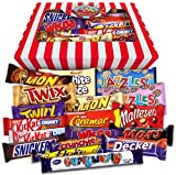 The Chocolate Gift Box! Retro Sweets Hamper - Chocolate Version