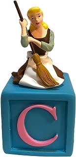 Disney Alphabet Fun Blocks Figurine - Cinderella