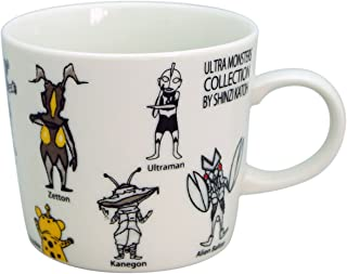 Shinzi Katoh Design Ultraman All Stars Mug Cup Y-1001A