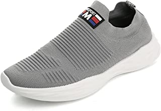 No.66 TOWN Men's Transform Flyknit Sneakers,Jogging Running Sock Shoes