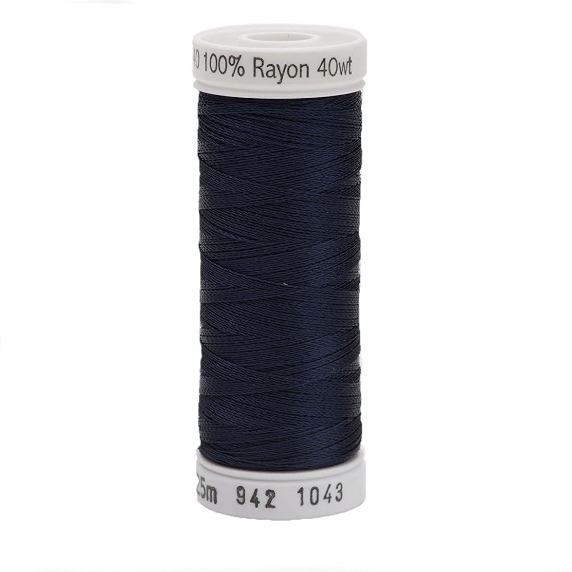Sulky 942-1043 Rayon Thread for Sewing, 250-Yard, Dark Navy