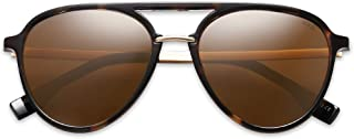 Oversized Polarized Sunglasses for Women Men Aviator Ladies Shades Big Frame SJ2078