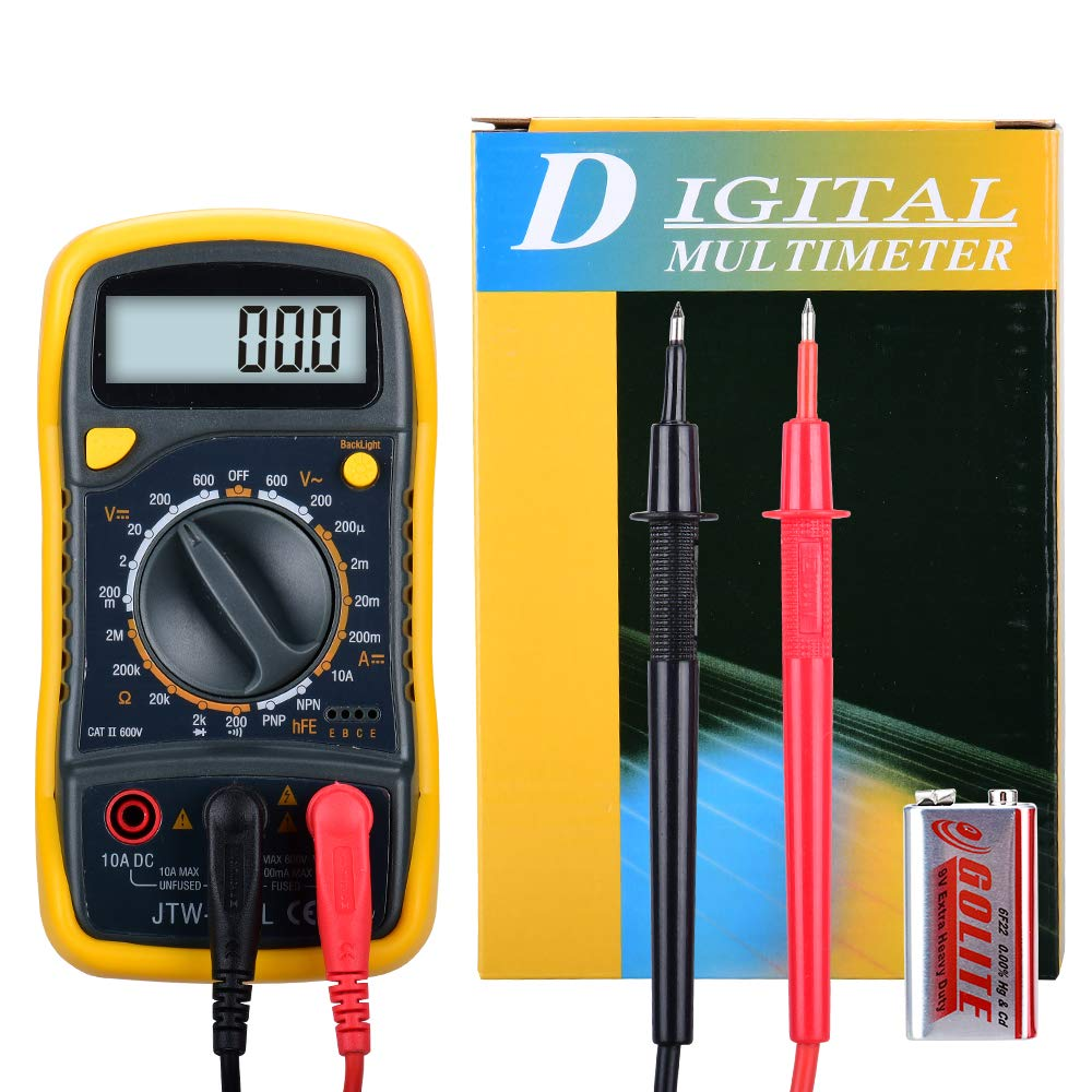 Wintact Digital Multimeter DMM Meter Max 87% OFF with Volt Amp Our shop most popular Ohm Diode Con