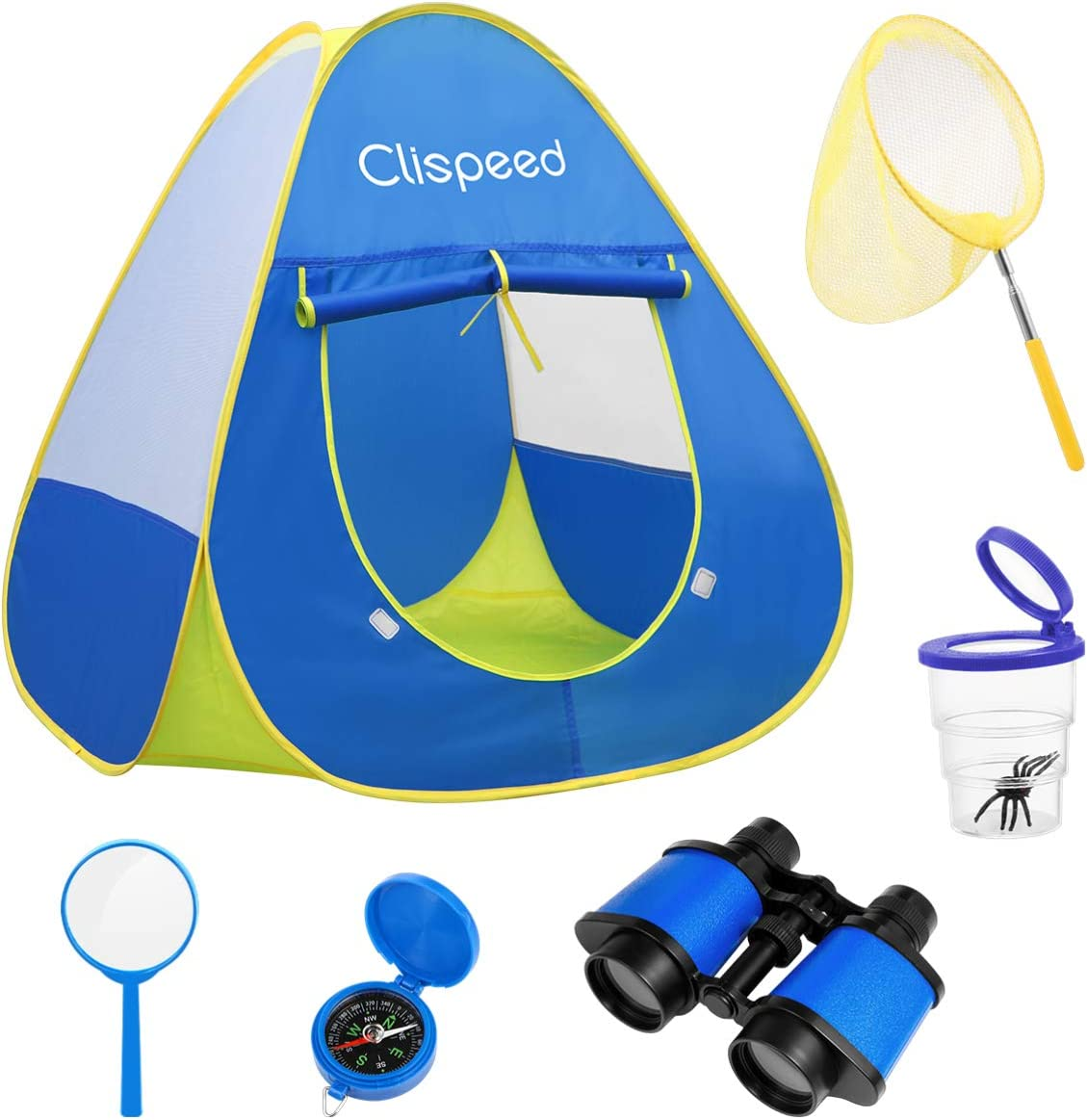 BESPORTBLE Cheap super special price 6PCS Kids Play Tent Magnifying Net Recommended Gla with Butterfly