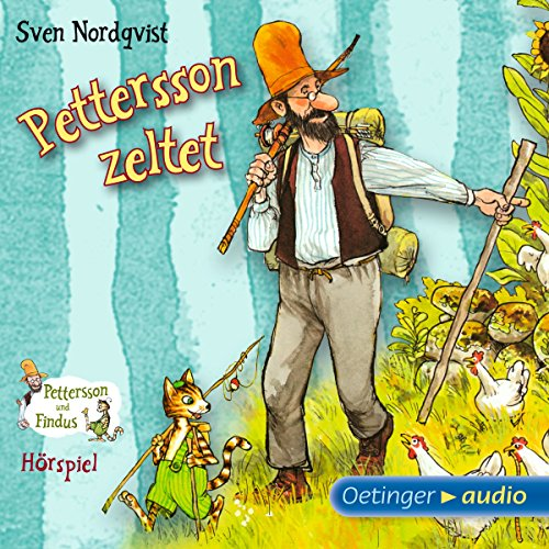 Pettersson zeltet audiobook cover art