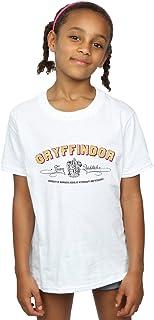 HARRY POTTER niñas Gryffindor Team Quidditch Camiseta 9-11 Years Blanco