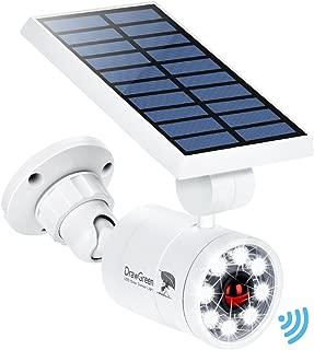 Solar Motion Sensor Light Outdoor Aluminum,1400 Lumens 9-Watt(130W Equi.) LED Spotlight, 2-Mode Solar Security Lights for Garden Driveway Patio, 3-Year Battery Life, 160-Week 100% Free Replacement