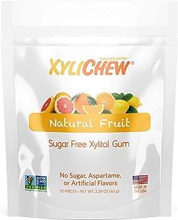 Xylichew 100% Xylitol Chewing Gum - Non GMO, Non Aspartame, Gluten Free, and Sugar Free Gum - Natural Oral Care, Relieves ...