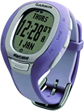 Garmin FR60 Women's Black Fitness Watch with Heart Rate Monitor, Footpod, and USB ANT Stick (Renewed)