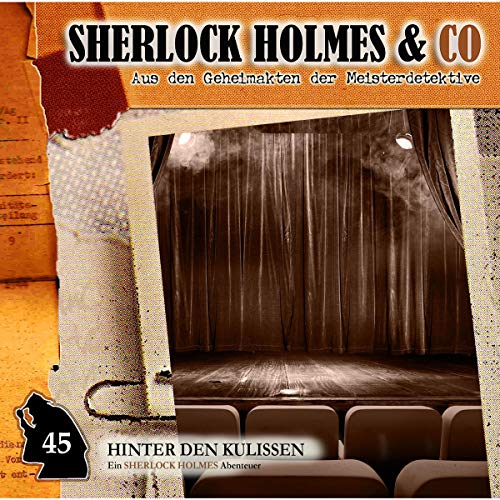 Hinter den Kulissen audiobook cover art
