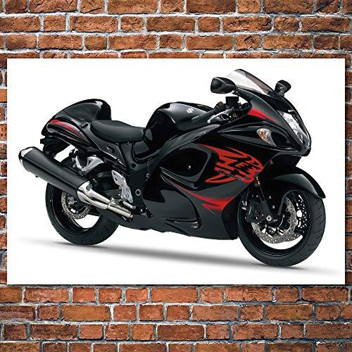 Superbike Bicicleta Negra_Puzzle Adulto 1000 Piezas_Juego de Rompecabezas para niños y Adultos_50x75cm