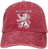 Moruolin Scotland Scottish Flag Lion Logo Crest Unisex Trucker Hats Dad Baseball Hats Driver Cap