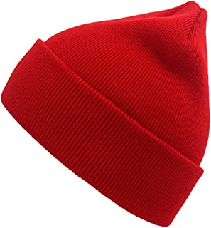 Winter Beanie Hat Warm Knit Hats Acrylic Knit Cuff Beanie Cap for Women & Men