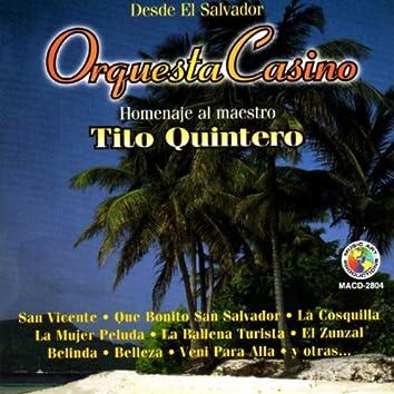 Homenaje Al Maestro Tito Quintero