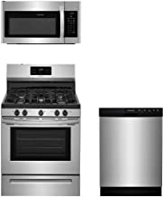 Frigidaire 3-Piece Stainless Steel Kitchen Package with FFGF3054TS 30