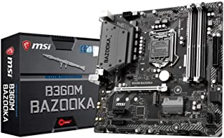 Msi B360M Bazooka Placa Base Arsenal, Negro