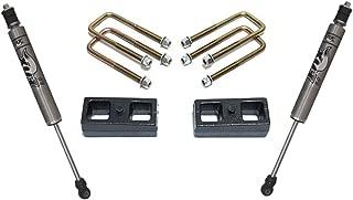MaxTrac 906820F Lift Kit-Suspension Component 2 in. Rear Lift Incl. Lift Blocks U-Bolts Fox Rear Shocks Lift Kit-Suspension Component