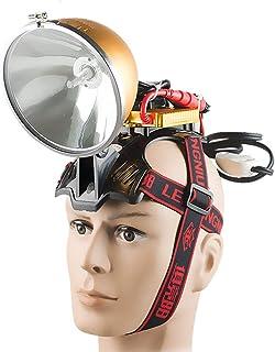 Image of HLIGHT 12V 35W HID Headlamp 55W Fishing Lamp Headlamp 75W Headlight 100W Hunting Searchlight Head Light Xenon Headlamps,75w
