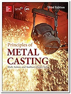 Principles Of Metal Casting, 3Rd Edn
