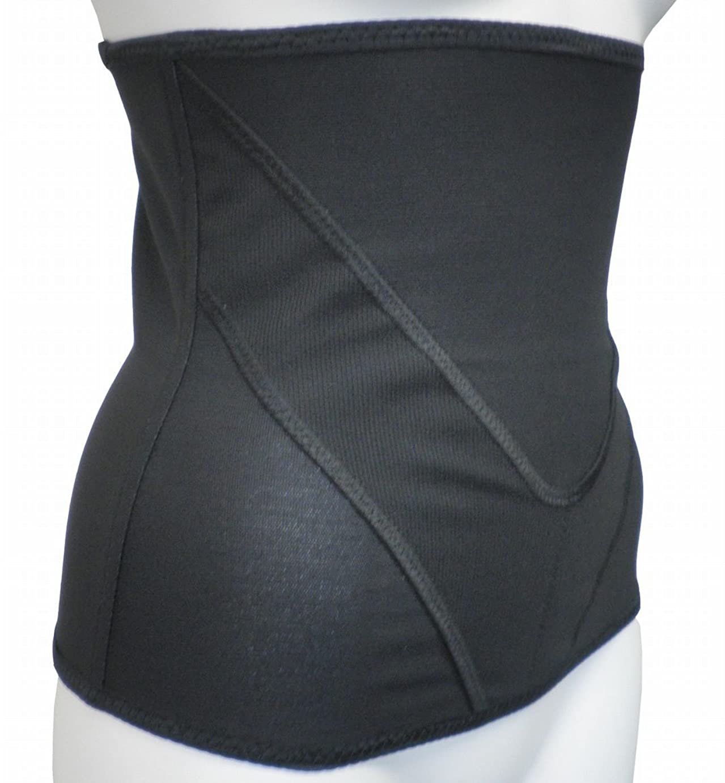 改善タクトまたはどちらか着るだけで腹筋!Vアップシェイパー (3Lウエスト85~93cm, ブラック)