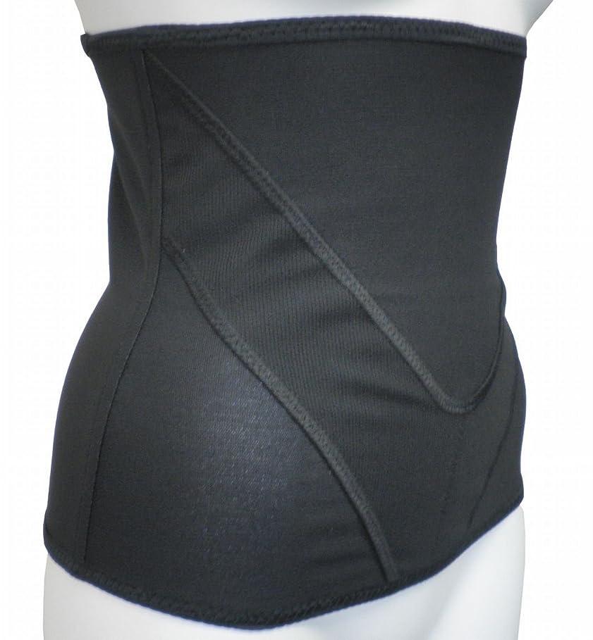 シーボード合理化キャンドル着るだけで腹筋!Vアップシェイパー (3Lウエスト85~93cm, ブラック)