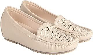 Flat n Heels Womens Khaki Loafer FnH 2602-53A-KH