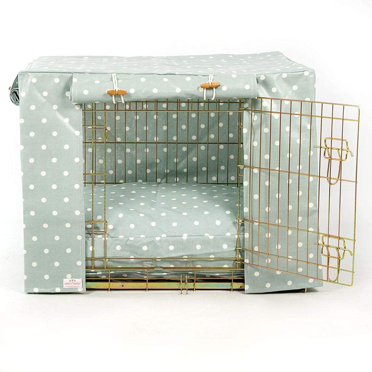 HideyHidey Duck Egg Dog Crate Cover to fit Pets at Home and Midwest iCrate Crate, Size  Medium (36 )