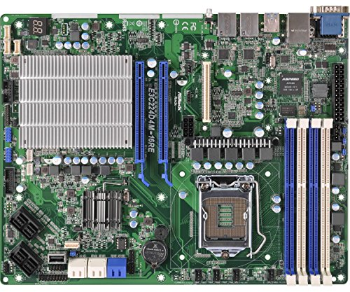 Asrock e3C224d4m 16RE ServerWorkstation Mainboard