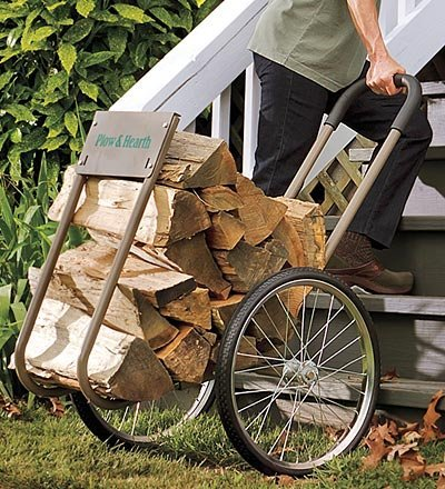 Plow & Hearth Wood Caddy