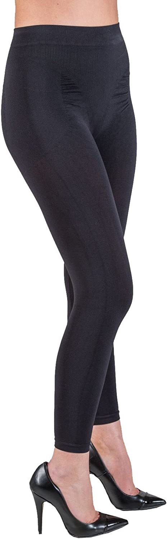 Elegant Anti Cellulite Leggings with Push up and Caffeine + Vitamin E