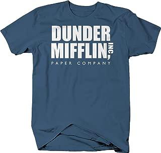 Dunder Mifflin Paper Co Office T Shirt for Men