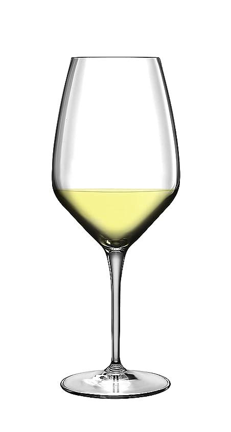 収容する好奇心吸い込むLuigi Bormioli Prestige (Atelier) 15?–?7?/ 8-ounce Rieslingワインメガネ 6-pc クリア 7540202