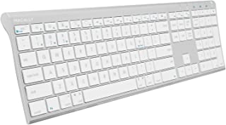 Macally Wireless Bluetooth Keyboard with Numeric Keypad for