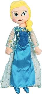 illuOKey Elsa Doll Plush, Frozen Doll, ice Princess Soft Stuffed Toys for Girls, 16 inches