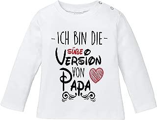 EZYshirt/® I`m a Heat Basketball T-Shirt Langarm Baby Bio Baumwolle