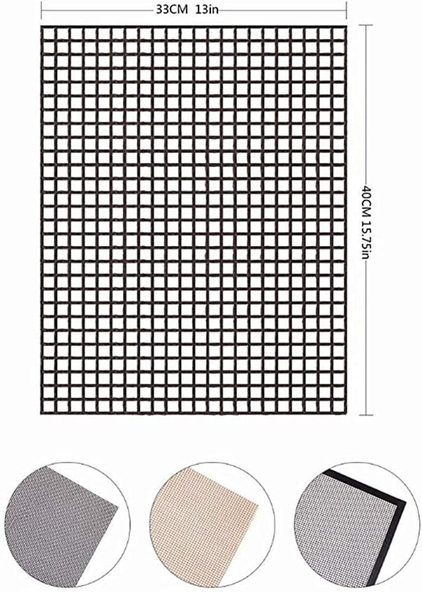 PLUS PO Grille Barbecue Rectangulaire Grilles Barbecue Barbecue Grill Maille Tapis Barbecue Grillades Barbecue Griller Tapis Barbecue Grill Tapis C,S A
