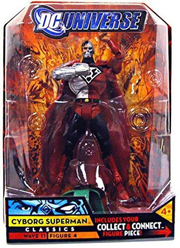 DC Universe Classics Series 11 Action Figure Cyborg Superman Build Kilowog Piece!