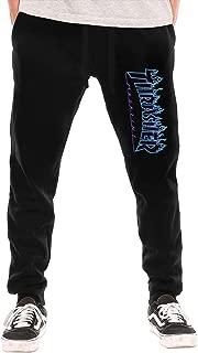 Flame Logo Men's Basic Long Pants Sweatpants